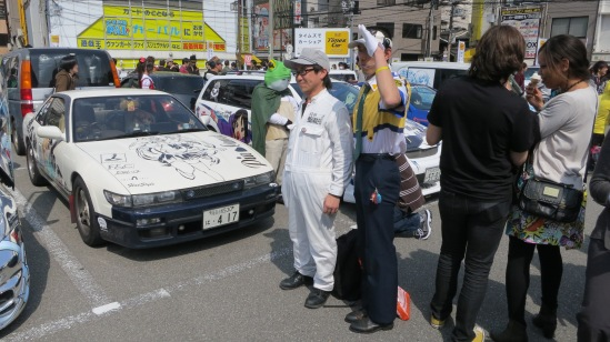 Yay for obscure anime cosplay!  I love Patlabor.